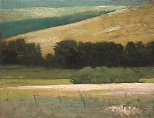 Marc Bohne Oil Landscape Painting - Palouse