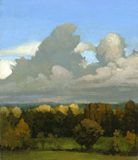 Marc Bohne Oil Landscape Painting - Northwest