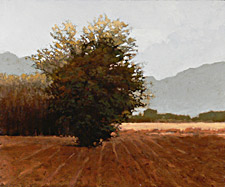 Marc Bohne Oil Landscape Painting - Chamberino, New Mexico
