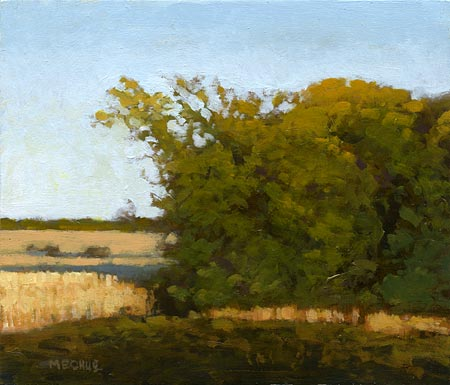 Marc Bohne Oil Landscape Painting - California