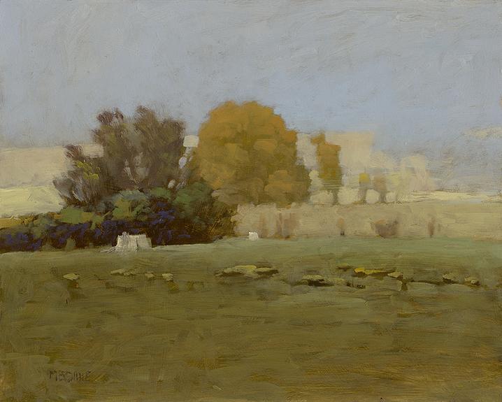 Marc Bohne Portalis 2013 Exhibit Oil Landscape